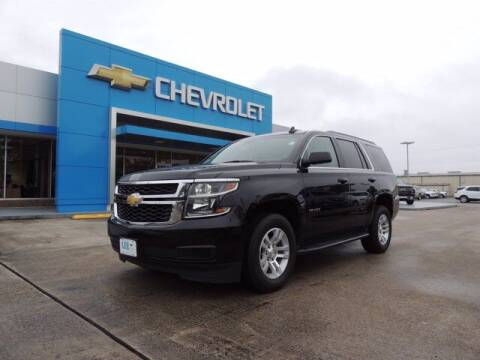2019 Chevrolet Tahoe for sale at LEE CHEVROLET PONTIAC BUICK in Washington NC