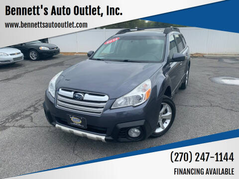 2014 Subaru Outback for sale at Bennett's Auto Outlet, Inc. in Mayfield KY