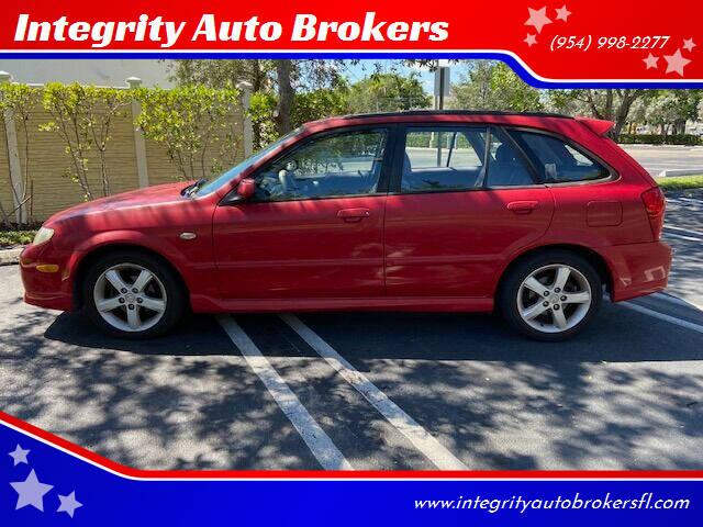 2003 Mazda Protege5 for sale at Integrity Auto Brokers in Pompano Beach FL
