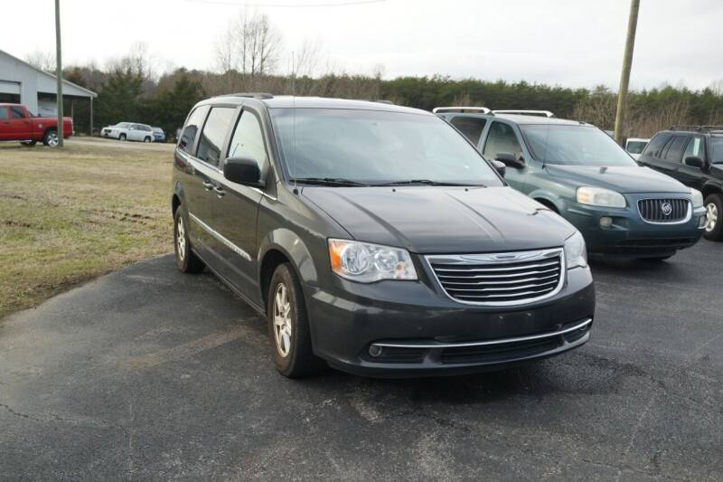2012 Chrysler Town and Country for sale at Herman's Motor Sales Inc in Hurt VA