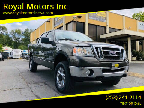 2008 Ford F-150 for sale at Royal Motors Inc in Kent WA