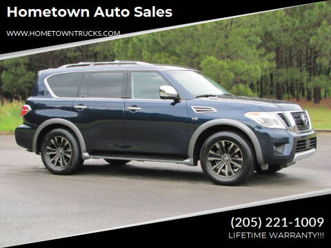 2017 Nissan Armada for sale at Hometown Auto Sales - SUVS in Jasper AL