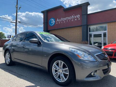 2015 Infiniti Q40 for sale at Automotive Solutions in Louisville KY