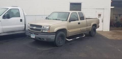 2004 Chevrolet Silverado 1500 for sale at Tower Motors in Brainerd MN