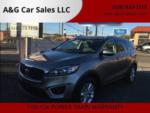 2017 Kia Sorento for sale at A&G Car Sales  LLC in Tucson AZ