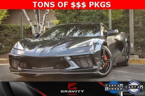 2020 Chevrolet Corvette for sale at Gravity Autos Atlanta in Atlanta GA