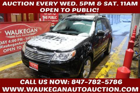 2009 Subaru Forester for sale at Waukegan Auto Auction in Waukegan IL