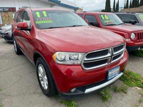 2011 Dodge Durango for sale at CAR GENERATION CENTER, INC. in Los Angeles CA
