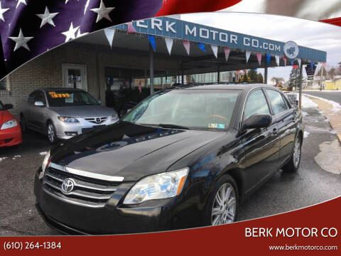 2007 Toyota Avalon for sale at Berk Motor Co in Whitehall PA