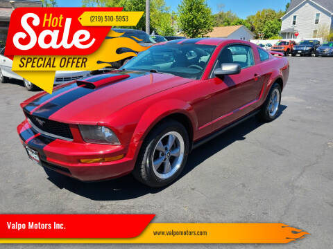 2005 Ford Mustang for sale at Valpo Motors Inc. in Valparaiso IN