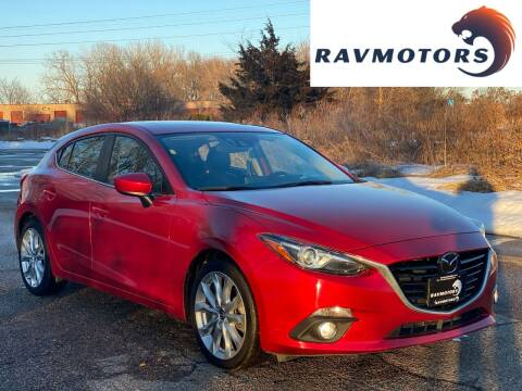 2016 Mazda MAZDA3 for sale at RAVMOTORS in Burnsville MN