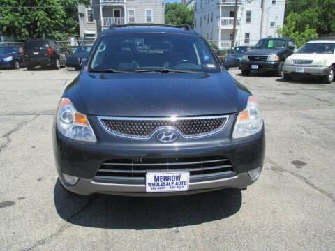 2008 Hyundai Veracruz for sale at MERROW WHOLESALE AUTO in Manchester NH