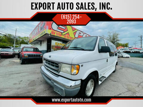 2000 Ford E-Series Cargo for sale at EXPORT AUTO SALES, INC. in Nashville TN