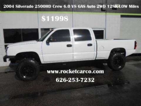 2004 Chevrolet Silverado 2500 for sale at Rocket Car sales in Covina CA
