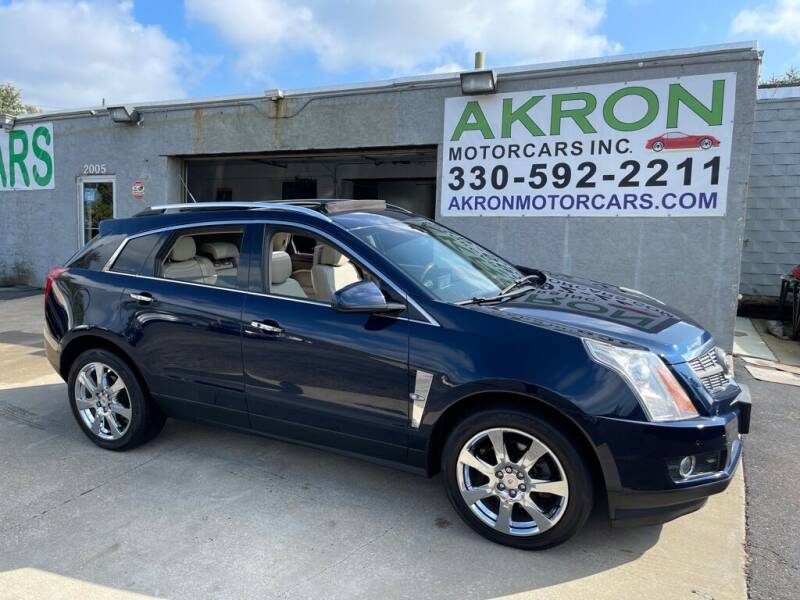 2011 Cadillac SRX for sale at Akron Motorcars Inc. in Akron OH
