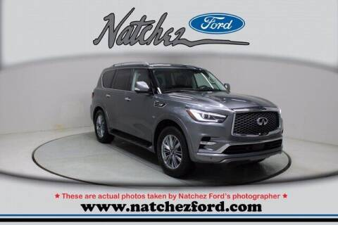 2020 Infiniti QX80 for sale at Auto Group South - Natchez Ford Lincoln in Natchez MS