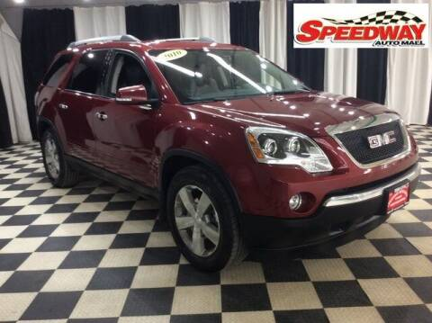 2010 GMC Acadia for sale at SPEEDWAY AUTO MALL INC in Machesney Park IL