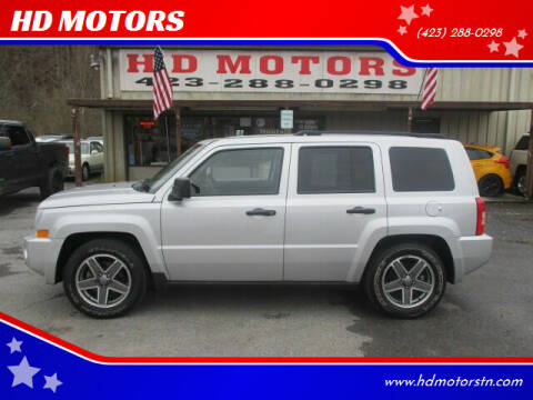 2009 Jeep Patriot for sale at HD MOTORS in Kingsport TN