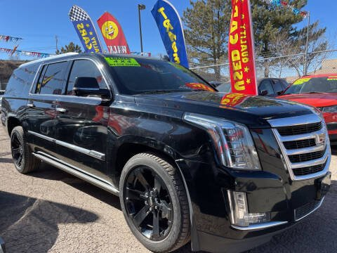2015 Cadillac Escalade ESV for sale at Duke City Auto LLC in Gallup NM