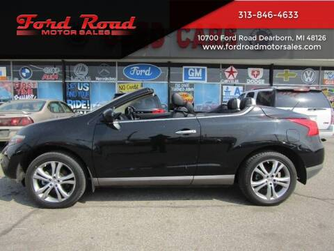 2011 Nissan Murano CrossCabriolet for sale at Ford Road Motor Sales in Dearborn MI