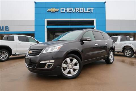 2017 Chevrolet Traverse for sale at Lipscomb Auto Center in Bowie TX