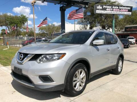 2015 Nissan Rogue for sale at Prime Auto Solutions in Orlando FL