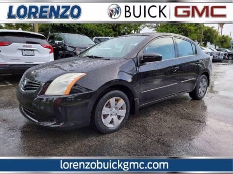 2012 Nissan Sentra for sale at Lorenzo Buick GMC in Miami FL