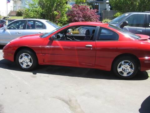 2005 Pontiac Sunfire for sale at UNIVERSITY MOTORSPORTS in Seattle WA