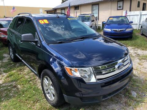2008 Ford Edge for sale at Castagna Auto Sales LLC in Saint Augustine FL