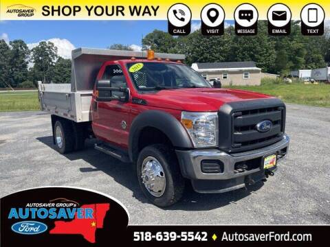 2015 Ford F-550 Super Duty for sale at Autosaver Ford in Comstock NY