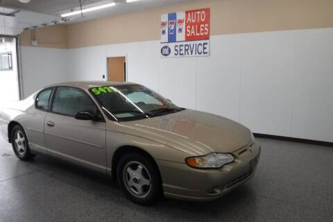 2004 Chevrolet Monte Carlo for sale at 777 Auto Sales and Service in Tacoma WA