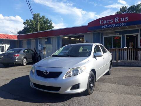 2010 Toyota Corolla for sale at Cars R Us in Binghamton NY