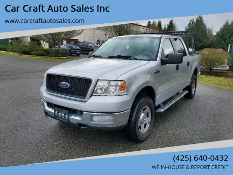 2005 Ford F-150 for sale at Car Craft Auto Sales Inc in Lynnwood WA
