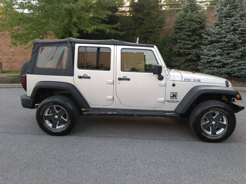 2010 Jeep Wrangler Unlimited for sale at Lehigh Valley Autoplex, Inc. in Bethlehem PA