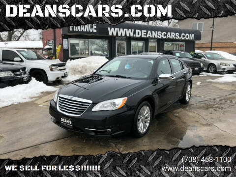2011 Chrysler 200 for sale at DEANSCARS.COM in Bridgeview IL
