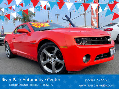 2013 Chevrolet Camaro for sale at River Park Automotive Center in Fresno CA