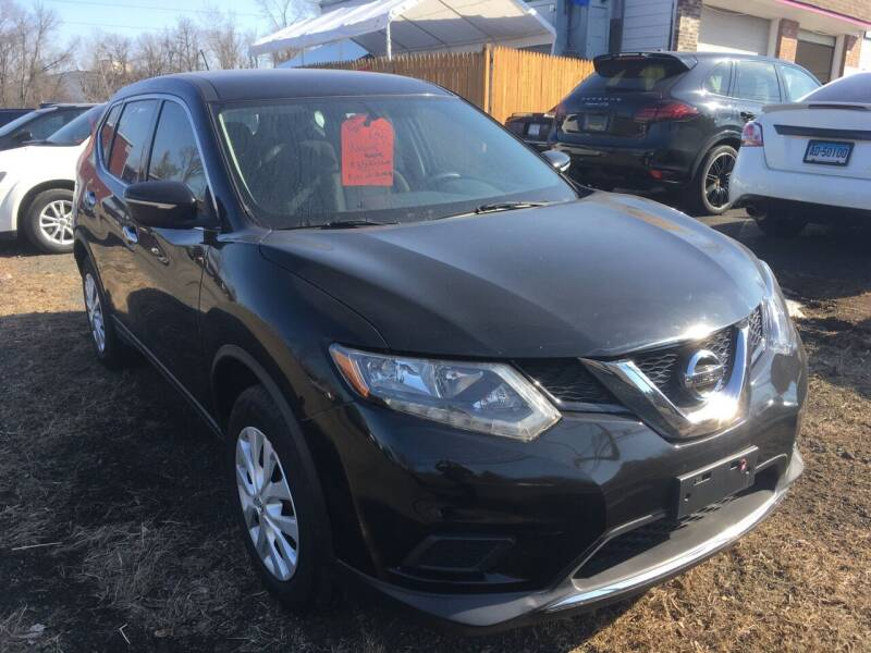 2015 Nissan Rogue for sale at MELILLO MOTORS INC in North Haven CT