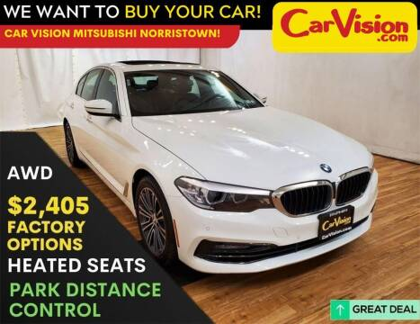 2018 BMW 5 Series for sale at Car Vision Mitsubishi Norristown in Trooper PA