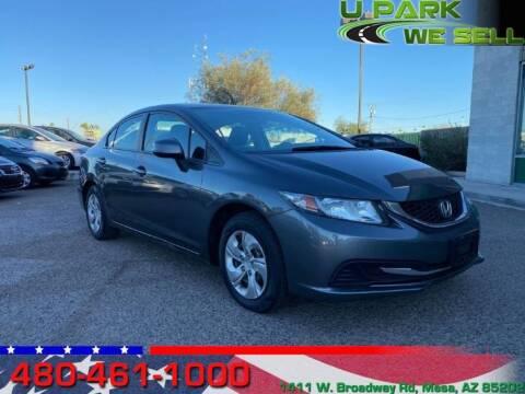 2013 Honda Civic for sale at UPARK WE SELL AZ in Mesa AZ