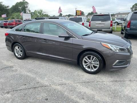 2017 Hyundai Sonata for sale at Rodgers Enterprises in North Charleston SC