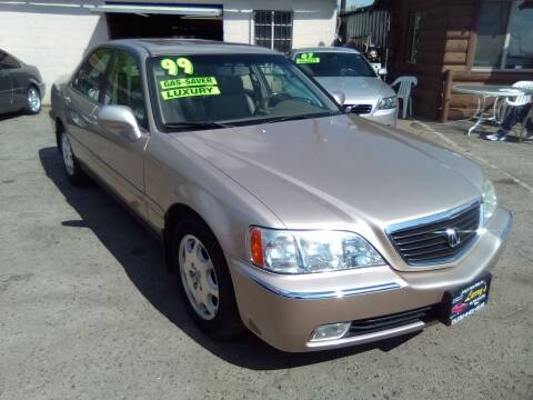 1999 Acura RL for sale at Larry's Auto Sales Inc. in Fresno CA