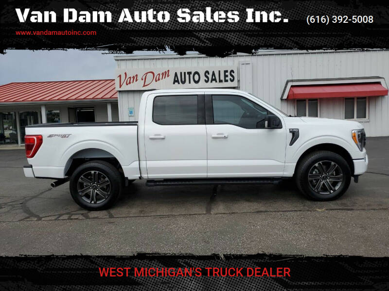2021 Ford F-150 for sale at Van Dam Auto Sales Inc. in Holland MI