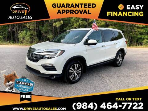 2016 Honda Pilot for sale at Drive 1 Auto Sales in Wake Forest NC