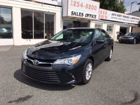 2016 Toyota Camry for sale at Bay Motors Inc in Baltimore MD