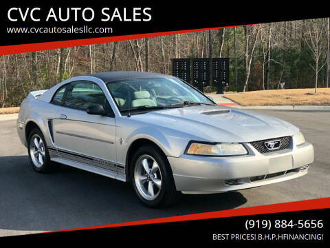 2000 Ford Mustang for sale at CVC AUTO SALES in Durham NC