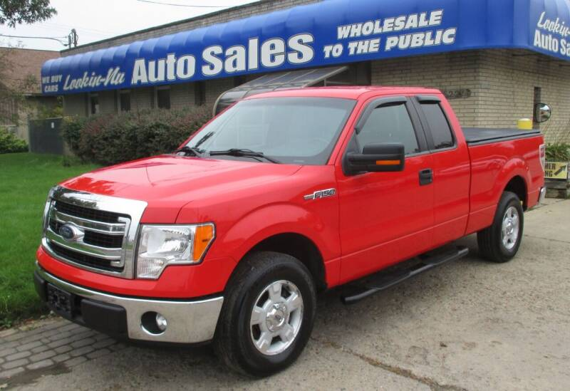 2011 Ford F-150 for sale at Lookin-Nu Auto Sales in Waterford MI