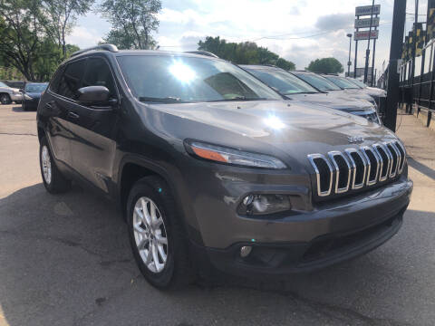 2017 Jeep Cherokee for sale at Champs Auto Sales in Detroit MI
