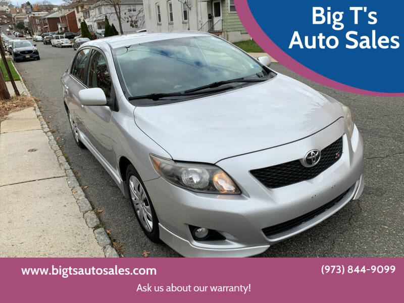 2009 Toyota Corolla for sale at Big T's Auto Sales in Belleville NJ