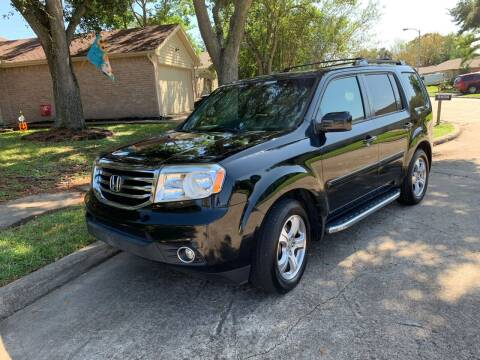 2013 Honda Pilot for sale at Demetry Automotive in Houston TX