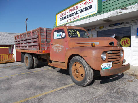 1949 Ford F-6 for sale at Governor Motor Co in Jefferson City MO